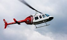 Worker airlifted after industrial incident when arm got caught in an industrial metal machine