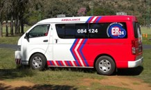 Taxi and motorbike collide leaving man seriously injured in Pinetown