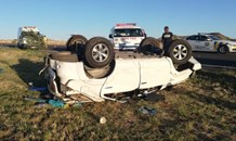 Eight people, including a young child, were injured when their SUV rolled on the N1 North of Bloemfontein