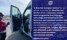 Premier Winde and Minister Madikizela to launch Blue Dot Taxi Pilot Project