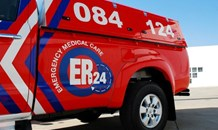 One killed, three critical in a single-vehicle rollover on the R54, Vaal Marina