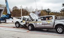 Global NCAP Car to Car crash test demonstrates double standard on vehicle safety in Africa