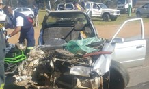 Head-on collision leaves one critical, two injured, Krugersdorp