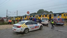 Train collided with bakkie in Pretoria North