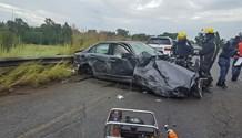 Vereeniging head-on crash leaves two dead