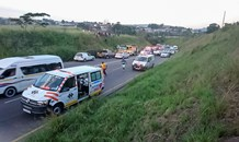 Hammersdale main Road taxi crash leaves scores injured
