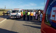 Pedestrian left seriously injured after collision in Pacaltsdorp near George