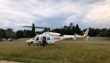 Specialised helicopter ambulance airlifts motorist from the Vaal area