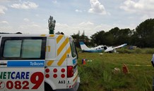 5 Injured in plane crash east of Pretoria in the Tierpoort area.
