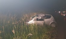 KZN: Woman injured after losing control of her car