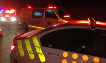 KZN: Man hospitalised after falling off the back of a moving bakkie
