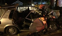 Umhlanga: Two critical after head on collision.