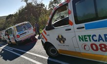 Eastern Cape man knocked down by out of control taxi.