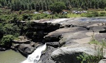 KZN: 13-year-old hospitalized after falling nine meters down Waterfall.