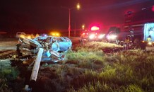 One dead, three injured in Krugersdorp crash