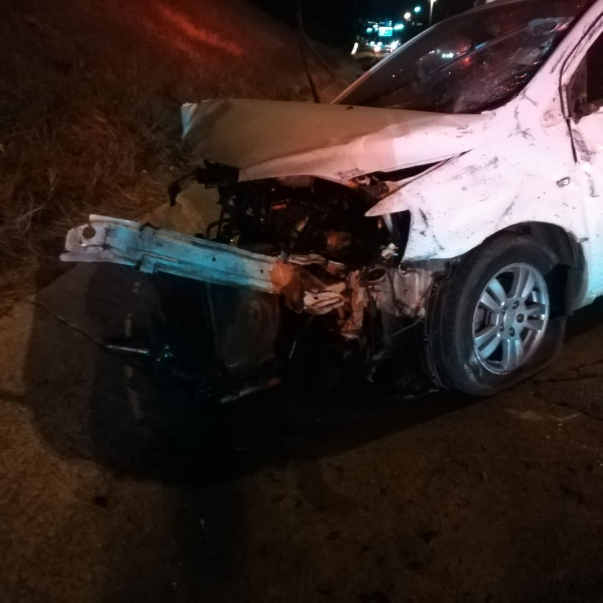 One person killed in a single vehicle accident on the N3
