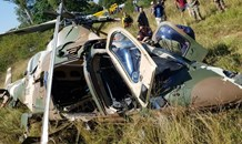 Two military pilots injured in a helicopter crash in Centurion