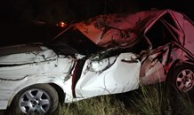 Lucky escape from serious injury in Randfontein crash