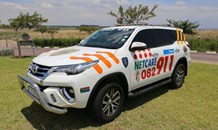 Gauteng: Motorcyclist seriously injured in bakkie vs bike crash.