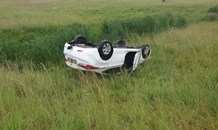 Gauteng: Driver injured in rollover