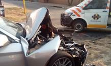 Gauteng: Two injured in Randburg collision