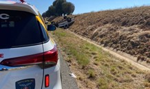 Elderly Free State couple injured in rollover.