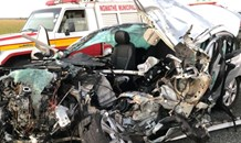 Three injured in Free State head-on collision