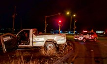 Five injured in a two-vehicle collision in Katlehong