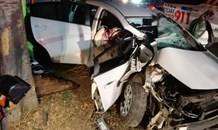 Man airlifted following crash in Lombardy East, Johannesburg