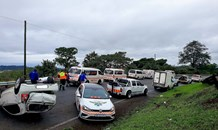 Taxi Crash leaves 12 injured on the M13 Durban Bound