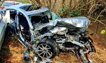 Serious crash closes the M4 Northern Freeway