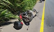 A Biker injured in crash on the M7 West Bound near Hans Dettman in Pinetown