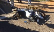 Man knocked off bike, left seriously injured, Pretoria