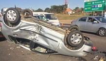 Man seriously injured when bike and car collide in Rooihuiskraal, Centurion