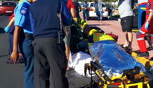 A 15-years-old injured after being knocked over by bus on the R27 in Woodbridge Island in Milnerton