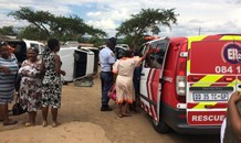 Six injured after two bakkies collide in Mpolweni Mission just outside Pietermaritzburg