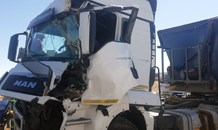 Truck collision leaves one injured along the N1 south near the N6 off ramp in Bloemfontein.