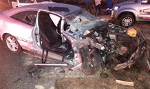 Head-on collision leaves two seriously injured in Rustenburg