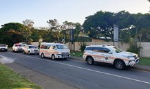 Man collapses whilst walking in the Bluff