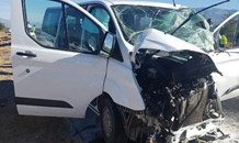 A man killed and six others injured in a  three-vehicle collision on the R60 outside of Worcester