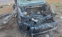 Driver suffers critical injuries in a vehicle rollover on the R502 in Orkney