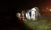 Five injured in vehicle rollover west of Johannesburg