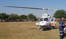 Mamelodi courier vehicle robbery & shooting, victim airlifted