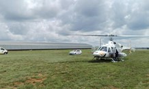 Randfontein: 61-year-old man airlifted after fall.