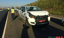 One injured in collision between three vehicles on Dumisani Makhaye Drive in Avoca Hills, Durban