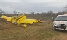 Pilots lucky escape after emergency landing outside of Letsitele