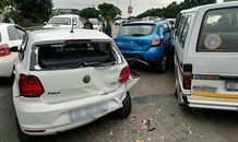 Thirteen injured in a collision between four vehicles on the (M12) Umhlanga Rocks drive northbound