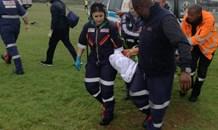 Gauteng: Man critical after being struck by lightning.