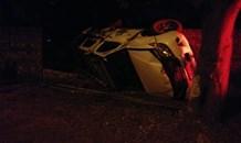 Gauteng: Driver escapes injury in Pretoria rollover