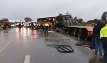 Gauteng: Three dead, multiple injured in Moloto Road crash.